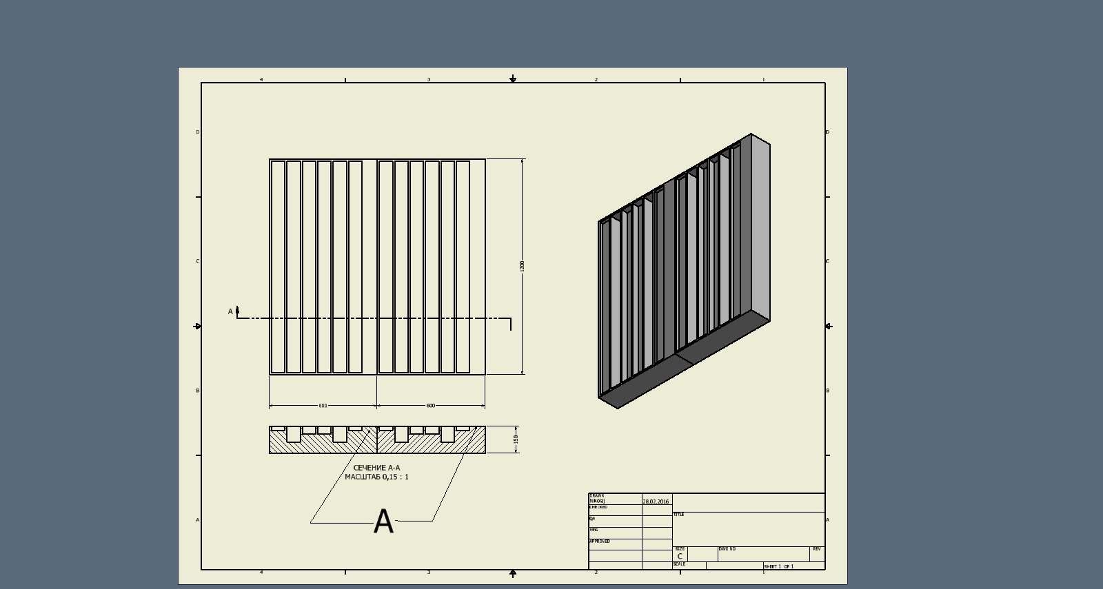 Skyline-диффузор своими руками - Акустика помещений - SoundEX