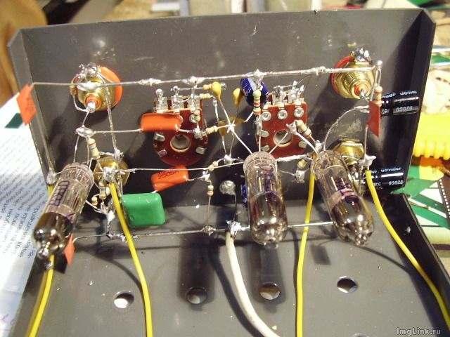 Ламповые фонокорректор своими руками
