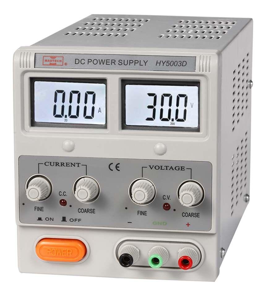 Mastech переменной источник питания постоянного тока (hy3006d) 0-30 v / 0-6a корабль от сша
