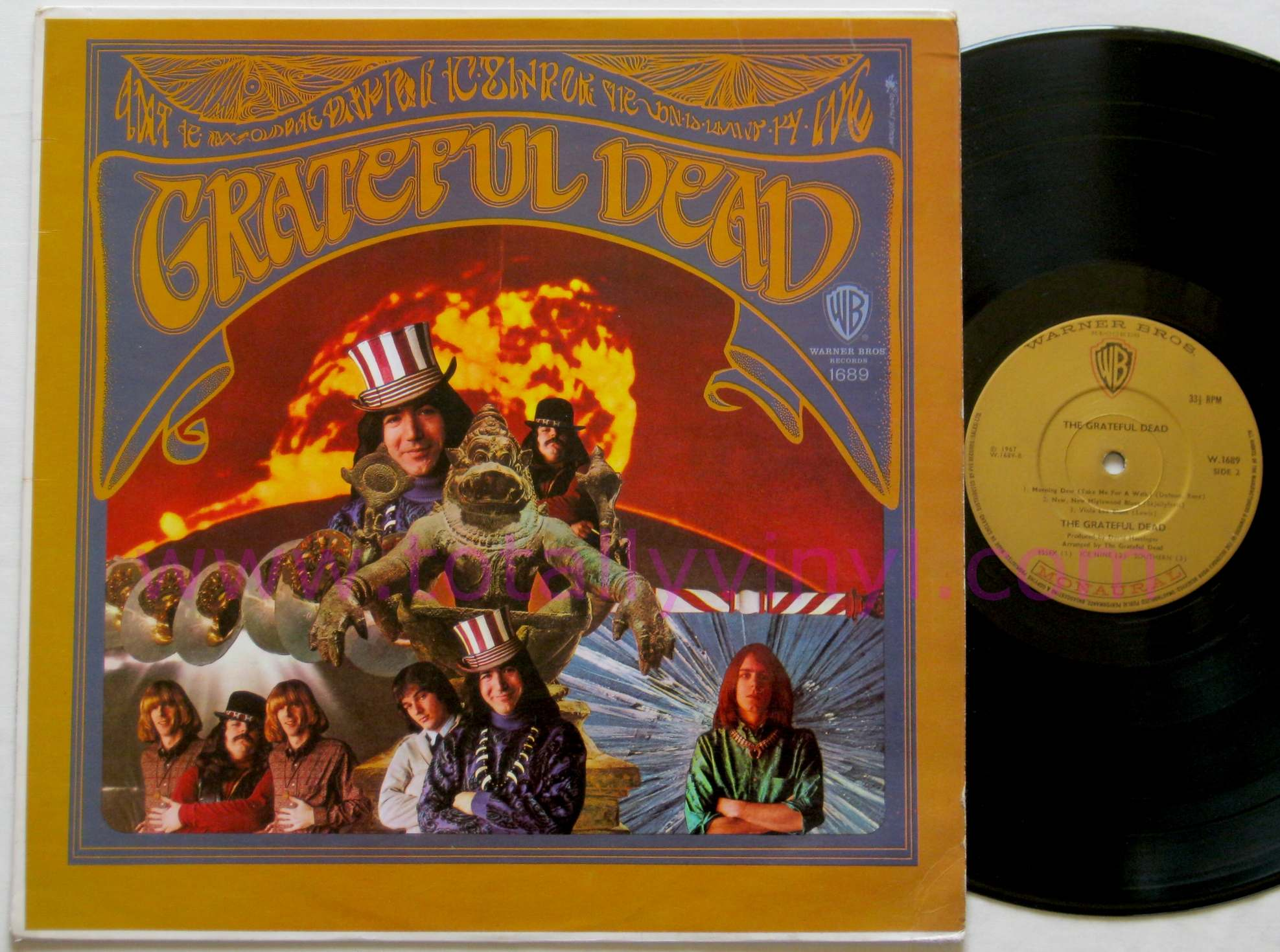 Photos of the grateful dead