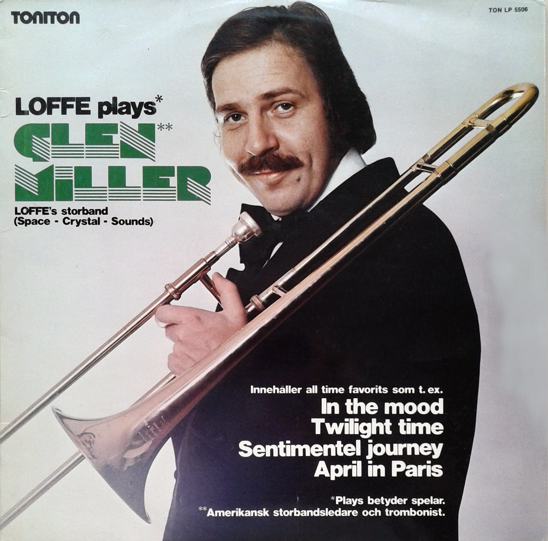 Jan Carlsson – Loffe Plays Glenn Miller