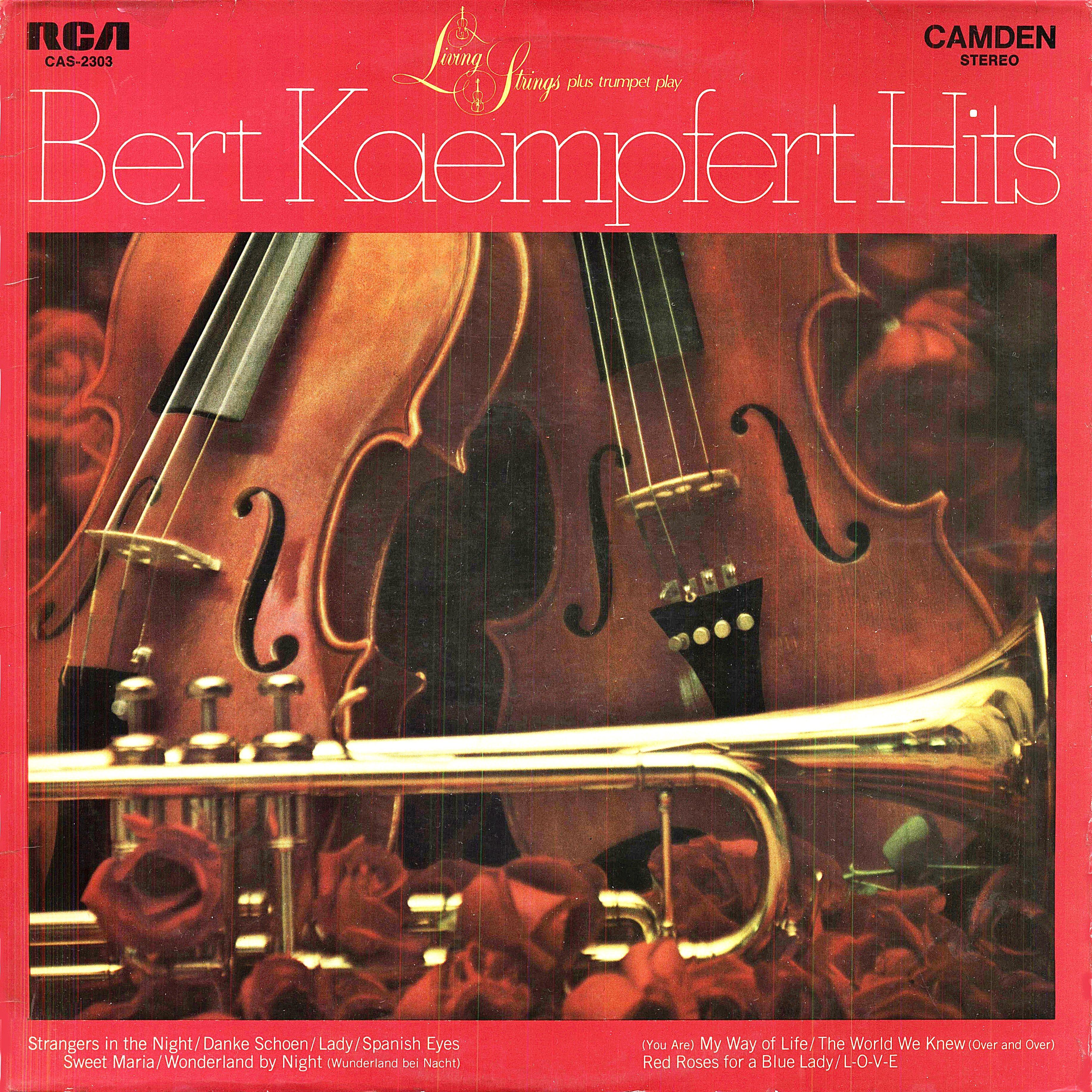 Living Strings Plus Trumpet – Play Bert Kaempfert Hits
