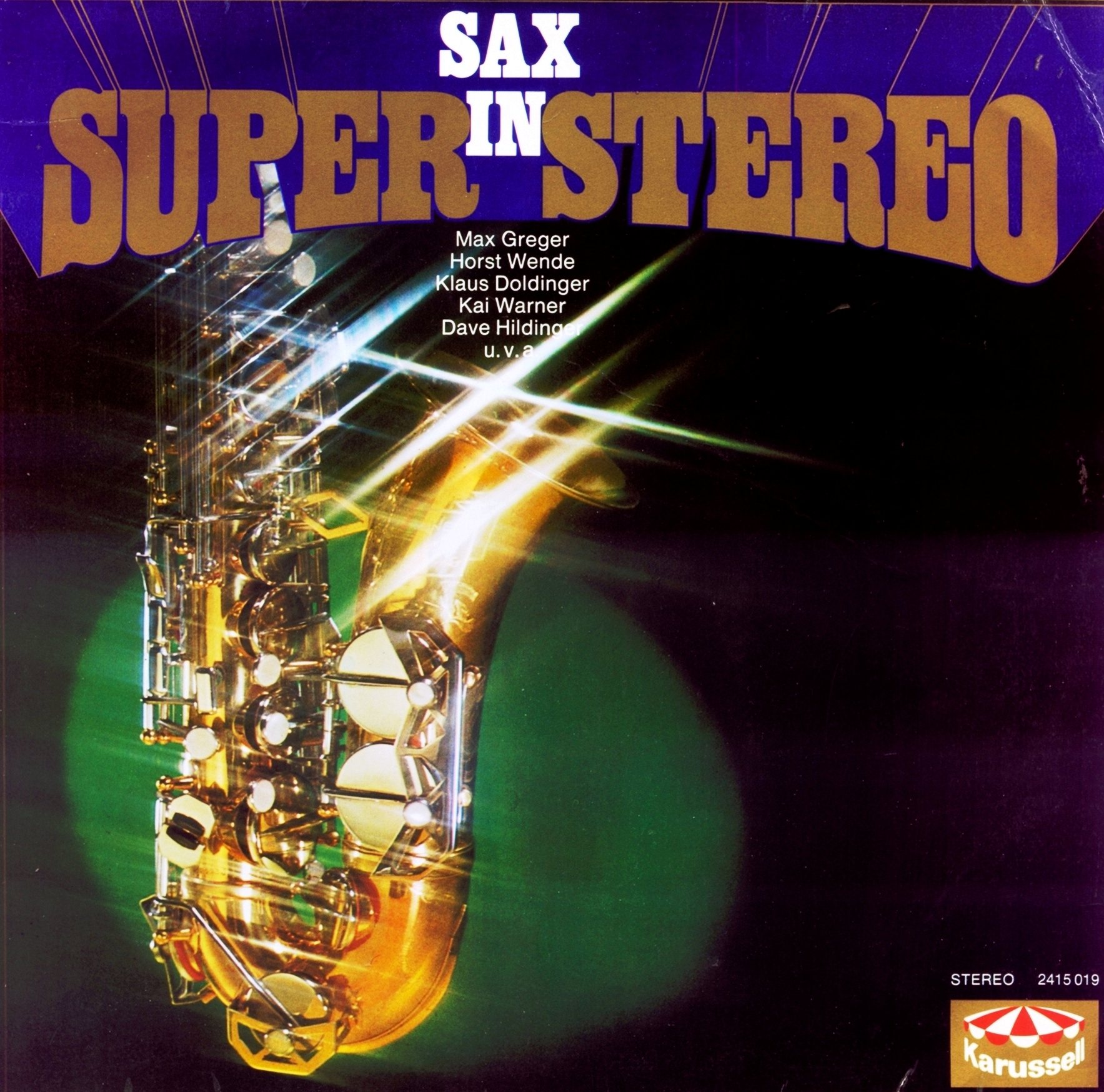 Various – Sax In Super Stereo