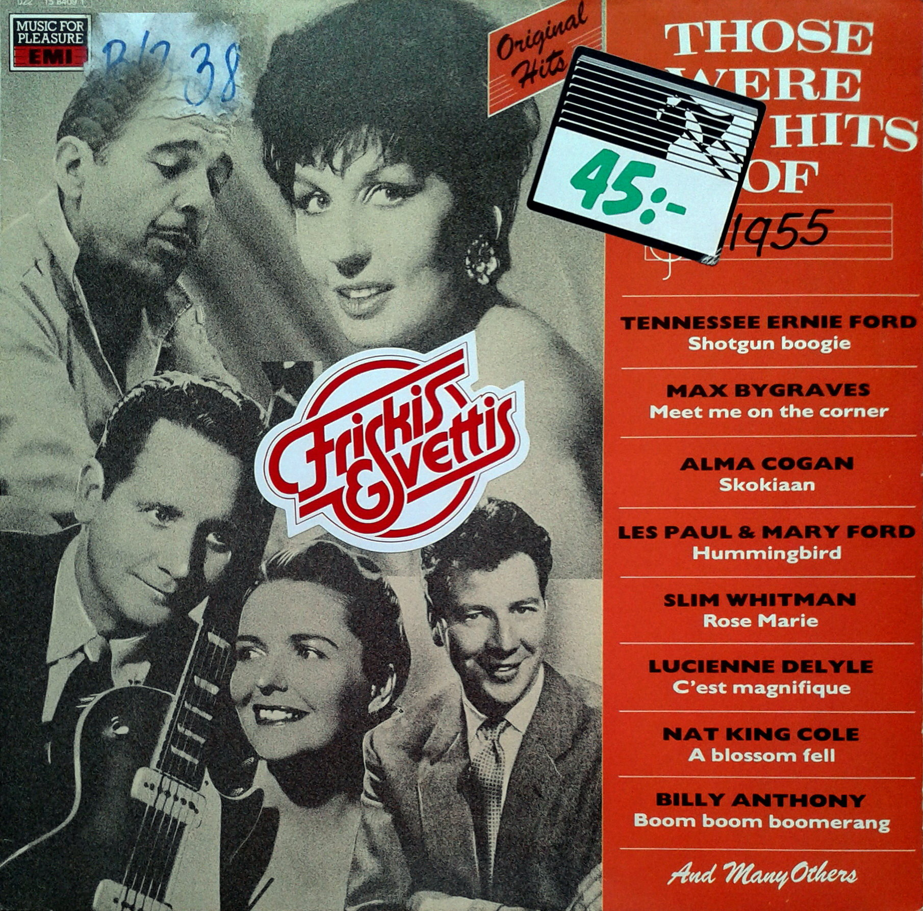 Various – Those Were The Hits Of 1955